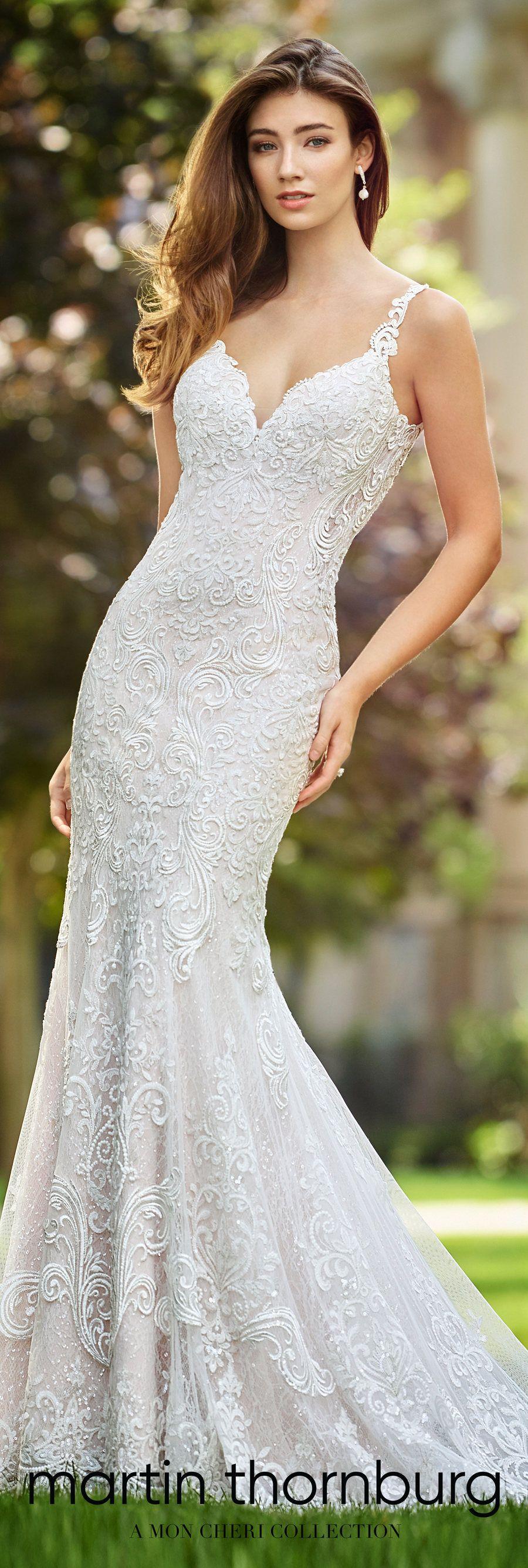 World exclusive wedding dresses spring by martin thornburg a