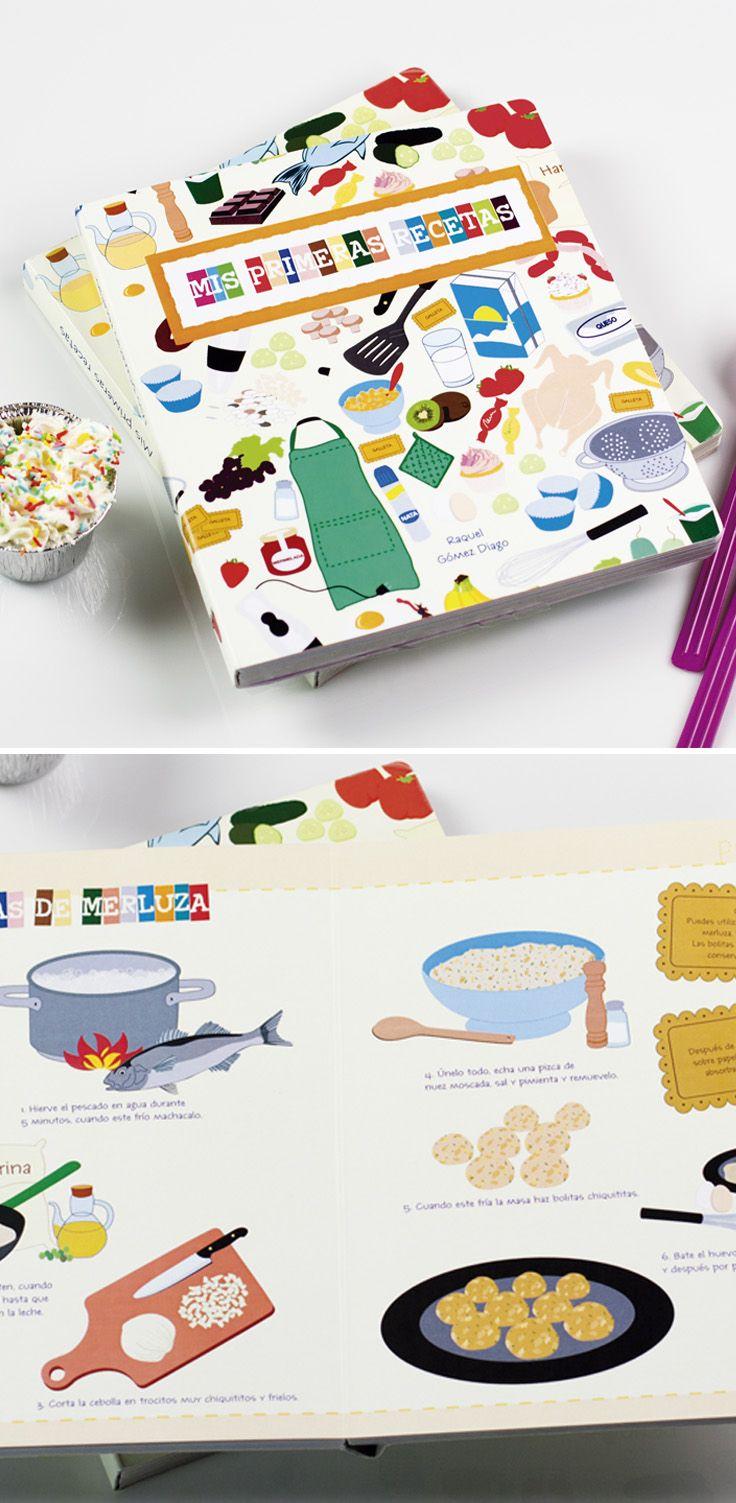 lbum infantil ilustrado de recetas fciles y sencillas para nios perfecto para la introduccin en