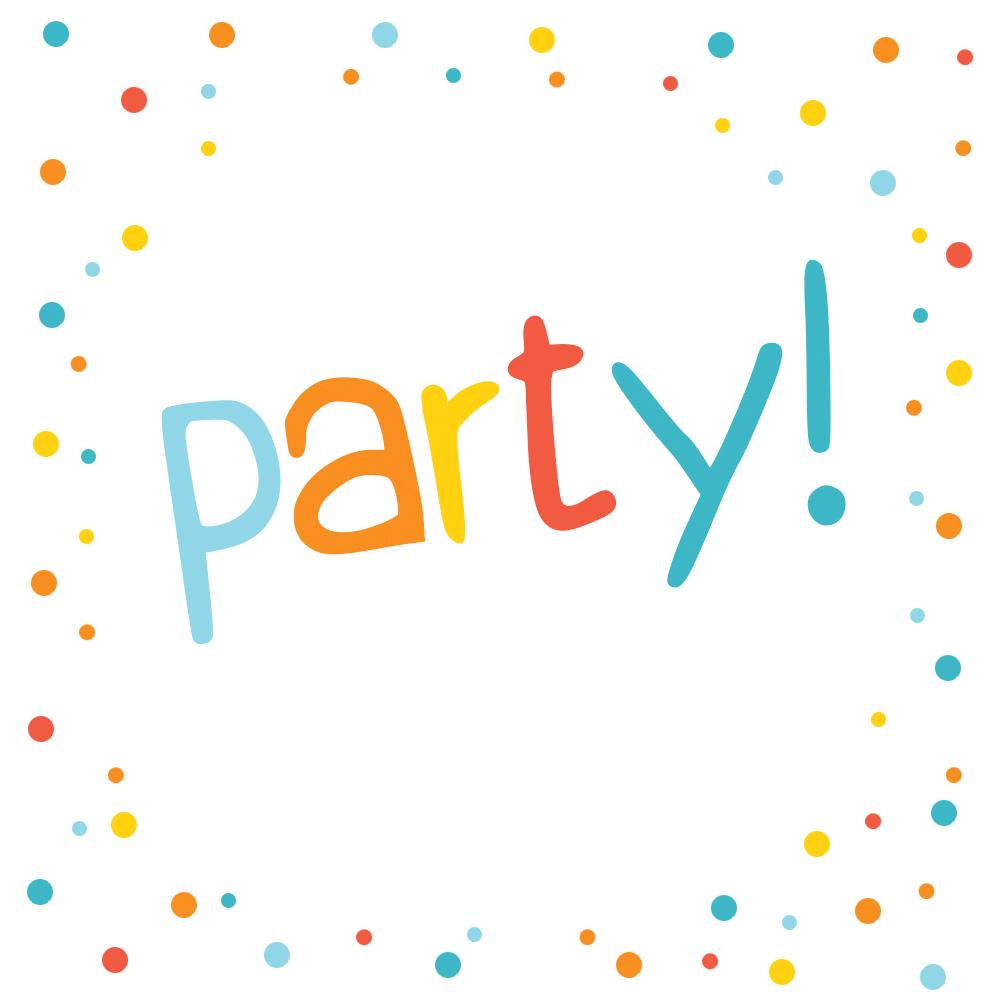 confetti dots frame free printable party invitation. Black Bedroom Furniture Sets. Home Design Ideas