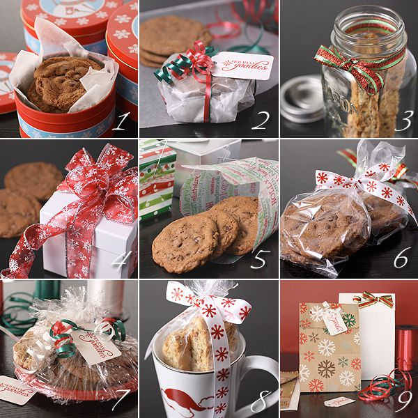 Baked Christmas Gifts: 9 Ideas For Dressing Up Your Cookies For Gift Giving