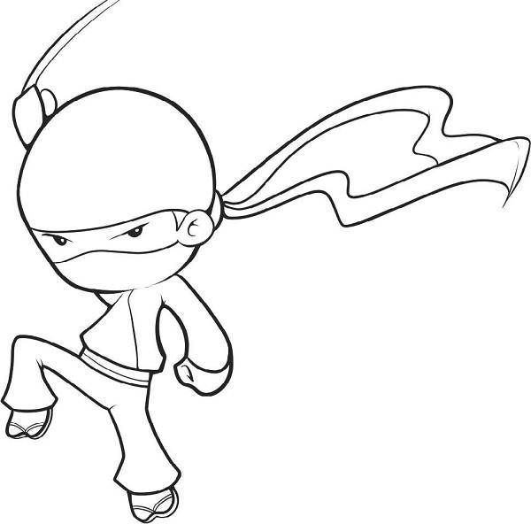 Cute Ninja Coloring Pages Enjoy Coloring Easy Drawings Drawing Pictures For Kids Cool Drawings