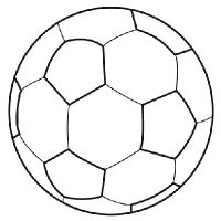 Coloriage ballon de foot projets essayer pinterest clip art - Coloriage ballon foot ...