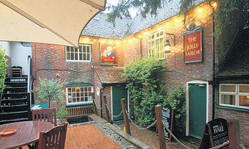 The Jolly Sailor, Bursledon - Howard's Way filming location :)