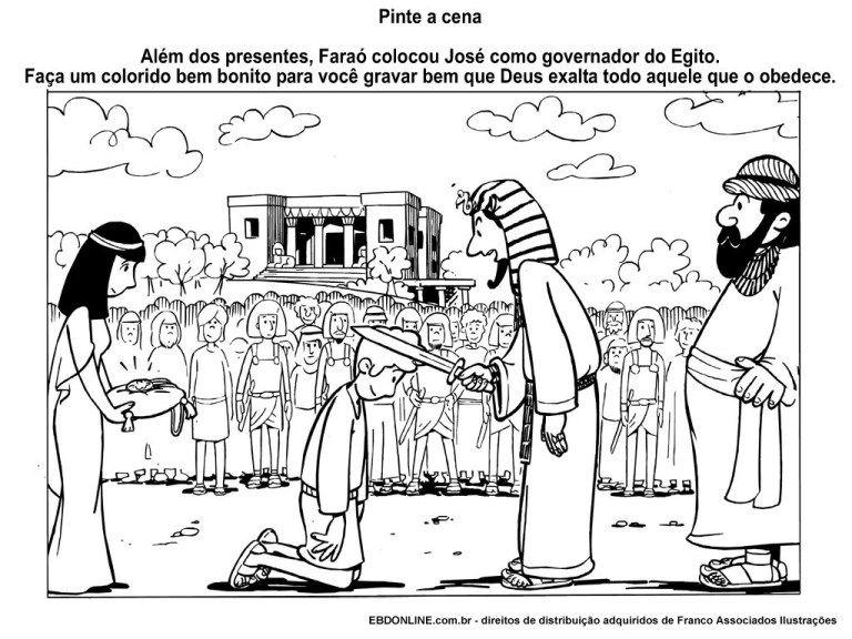 30 Atividades Biblicas Sobre Jose Do Egito Para Imprimir E Colorir