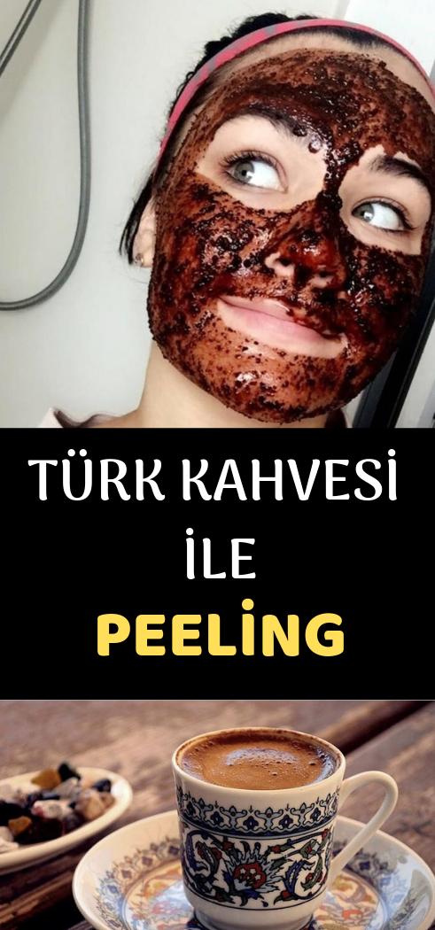 Türk kahvesi ile peeling nasıl yapılır