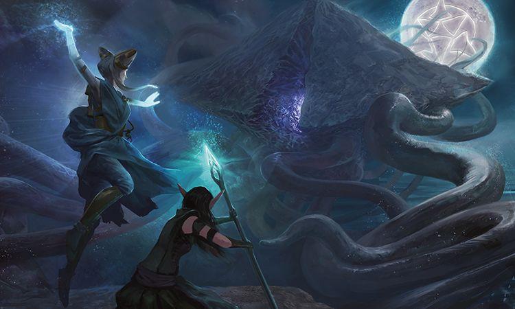 The Promised End   Moon art, Fantasy artwork, Magic art