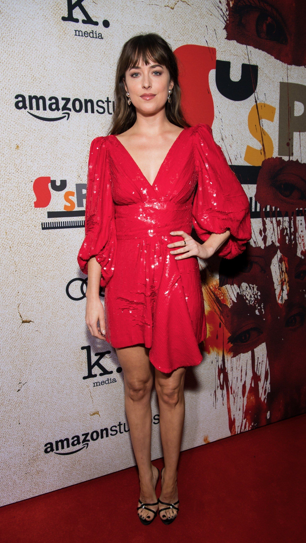 c616543ed239 Dakota Johnson Is the First to Wear Celine by Hedi Slimane on the ...