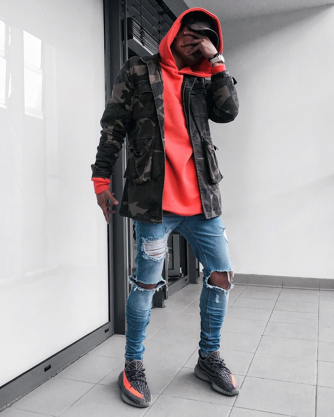 yeezy outfit, mens streetwear