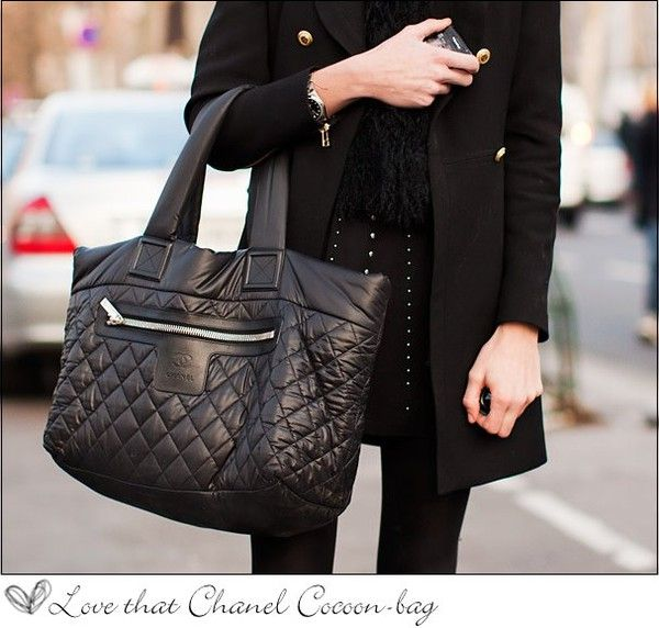 373eb7fc5 More Cocoon bag love Vintage Chanel, Tote Purse, Fashion Essentials, Coco  Chanel,