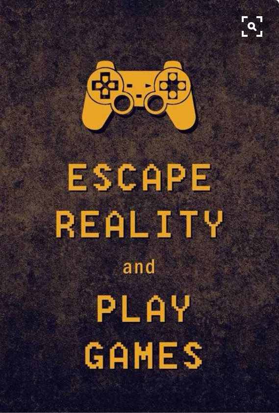 0ea7f8624b8e Escape Reality and Play Video Games. Story of my life. iPhone Wallpaper.