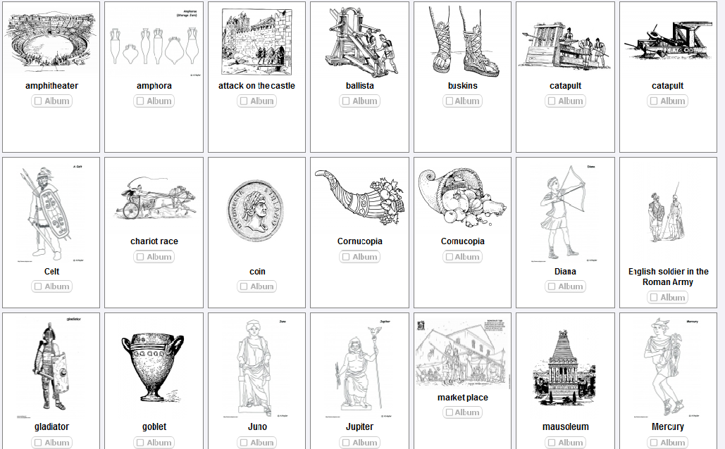 AS THE ROMANS DO: Roman Colouring pages | Ancient Greece and Rome ...