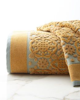 -6G8U John Robshaw  Ajark Face Cloth Ajrak Hand Towel Ajrak Bath Towel