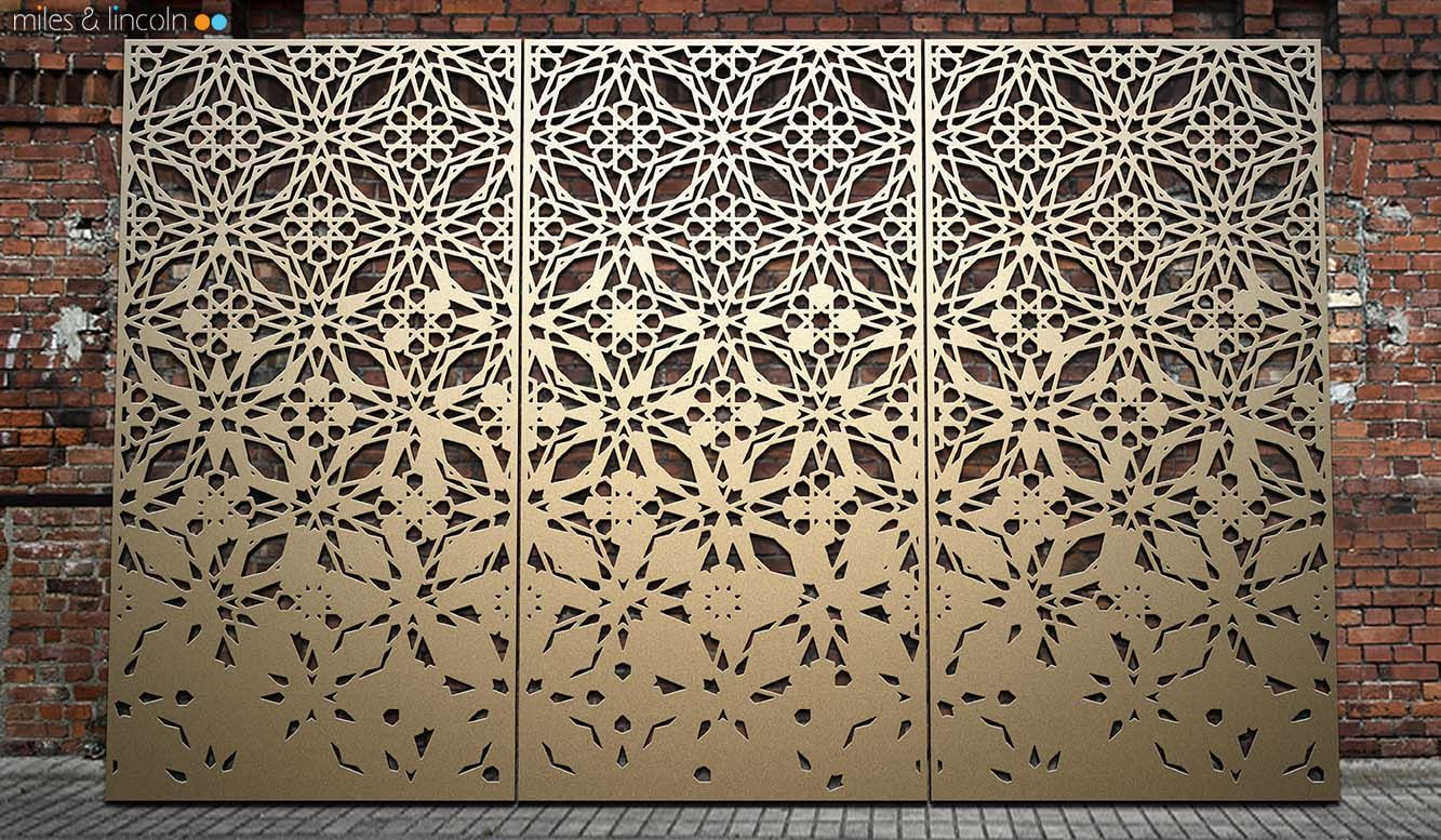Pin On Laser Cut Screens And Panels Www Milesandlincoln Com