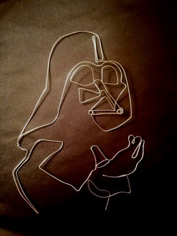 Wire Art Star Wars Darth Vader Wire Art - Personal Interests - personal interests