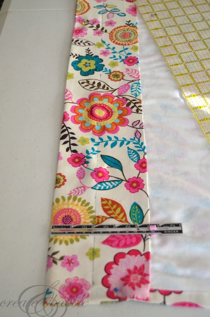An Easy Way to Make Lined Curtains #diycurtains