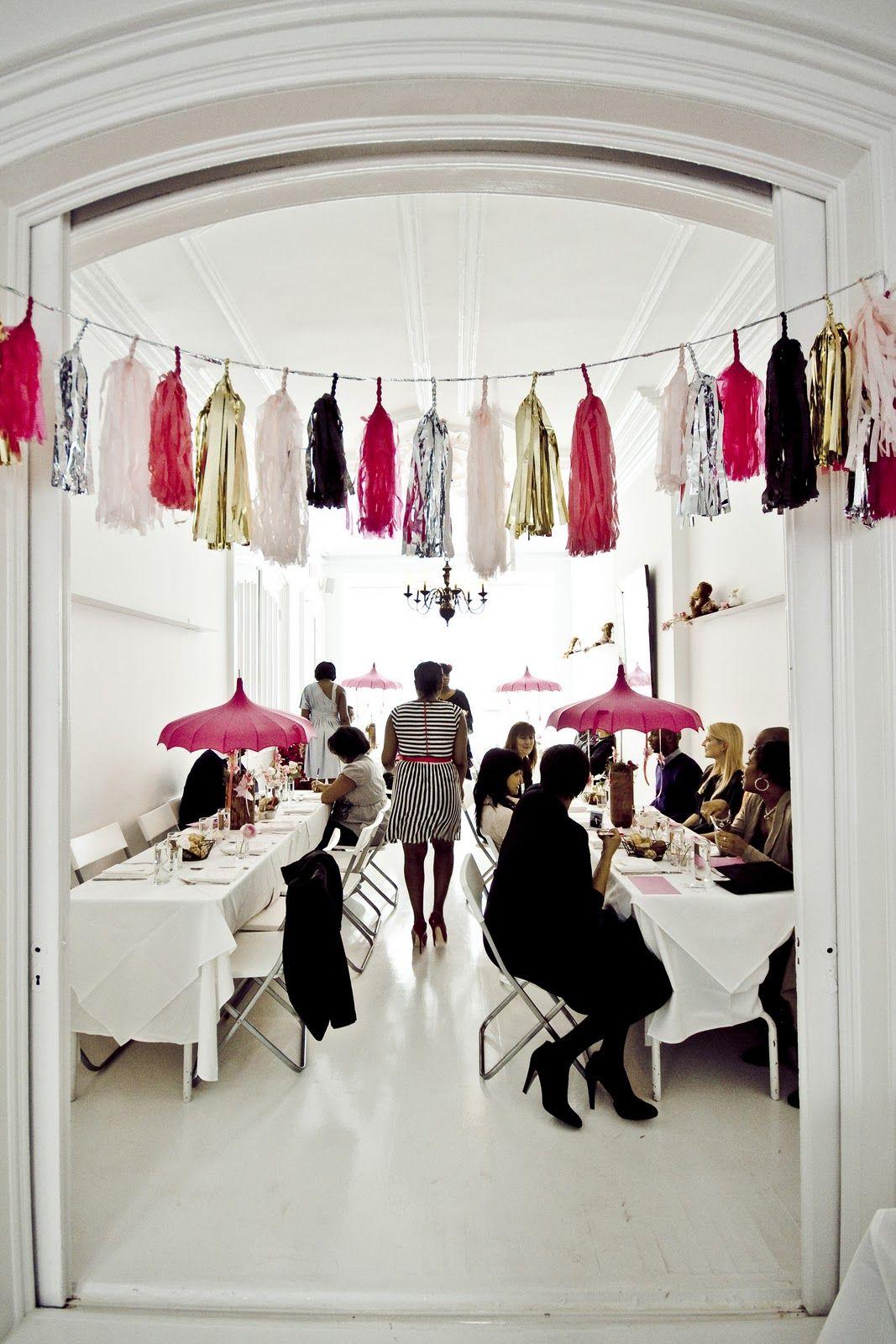 ICI Restaurant Private Room | A Brooklyn Wedding Venue | Www.partyista.com  · Pink Baby ShowersBridal ...