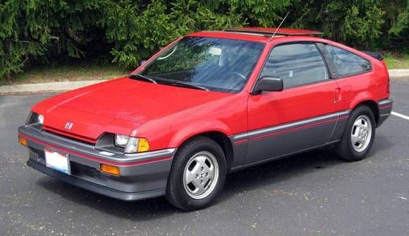 Dads 1 Owner 1985 Honda Crx Si My First Second Pinterest