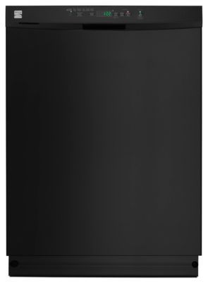 Kenmore Dishwasher Reviews >> Kenmore Md 54 Dba Tall Tub Built In 24 Dishwasher Black