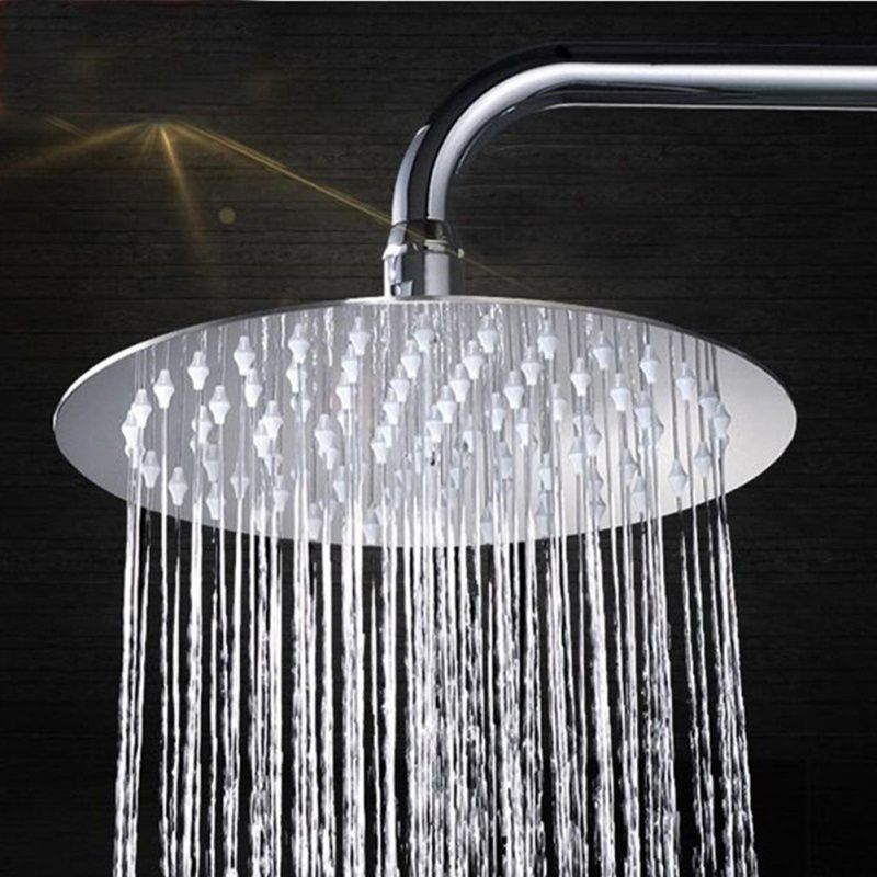 Wall Mounted Shower Head Rectangular Waterfall Rain Rainshower Showerhead Arethusa Tender Rai Rain Shower Bathroom Shower Heads Waterfall Shower