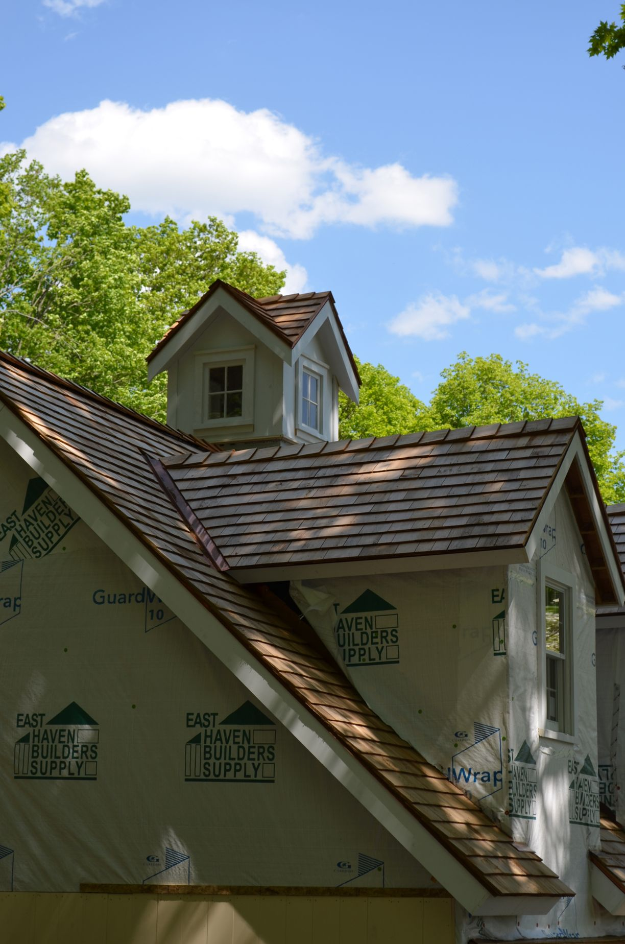 Cupola detail of new Brookfield CT barn designed by PCDF ...