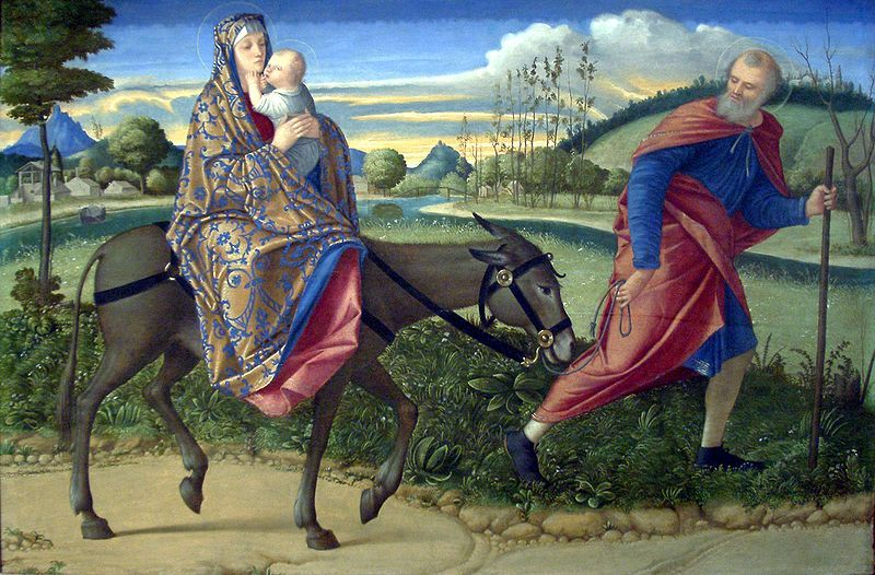 Vittore Carpaccio (1466–1525)  The Flight into Egypt