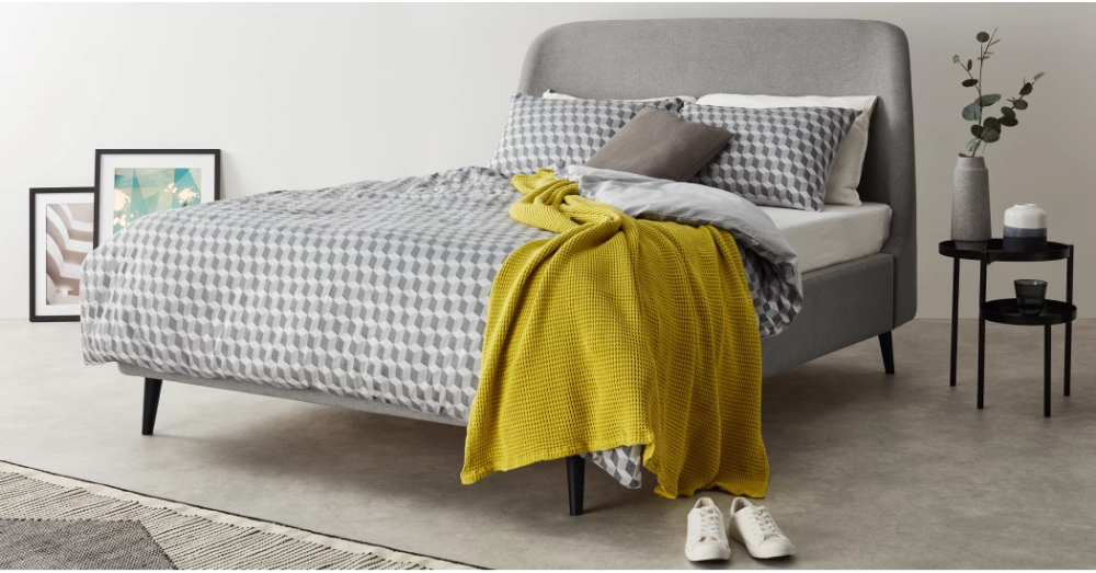 Hayllar Polsterbett 180 X 200 Cm Wintergrau Bett Ideen Polsterbett Bett