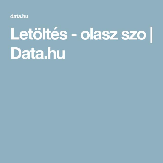 Letöltés - olasz szo  3a7376f3e8