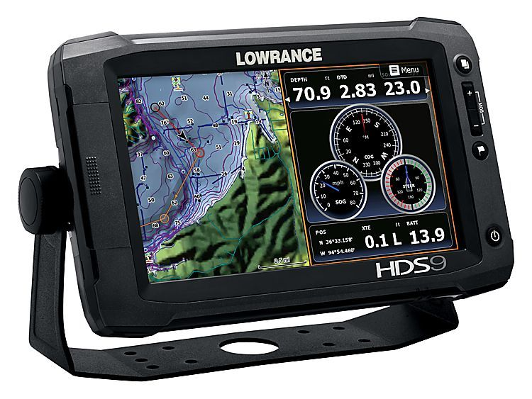 Lowrance HDS-9 Gen2 Touch Fishfinder/GPS Chartplotter with Insight