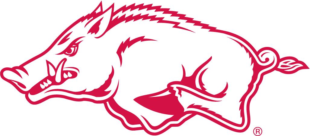 arkansas razorbacks alternate logo ncaa division i a c ncaa rh pinterest ie arkansas razorbacks clipart free Graphic Arkansas Razorback Art