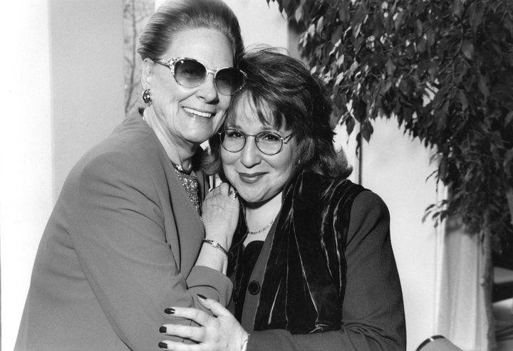 Renata Tebaldi with Aprile Millo... #beyondwords.   opera