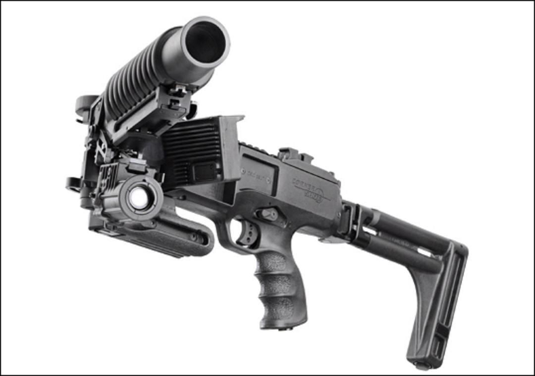 Future Military Weapons Future weapon corner shot 40mm