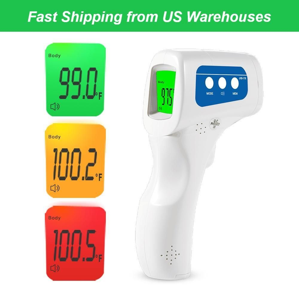 Easyhome 3 in 1 noncontact infrared forehead thermometer