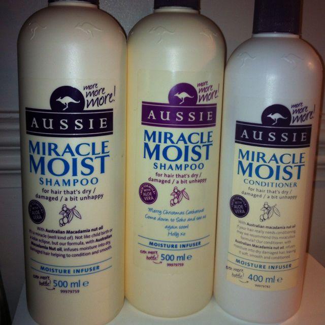 Super Sized Bottles Of Aussie Shampoo Conditioner
