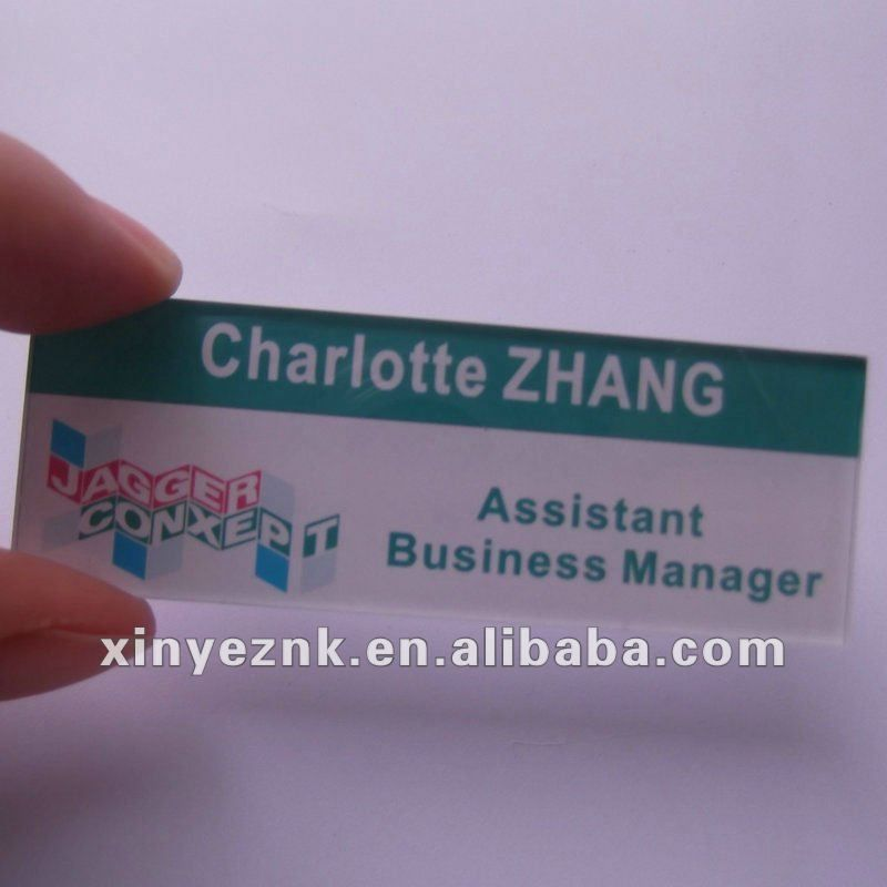 glossy acrylic mirror business card,acrylic name card | Customized ...