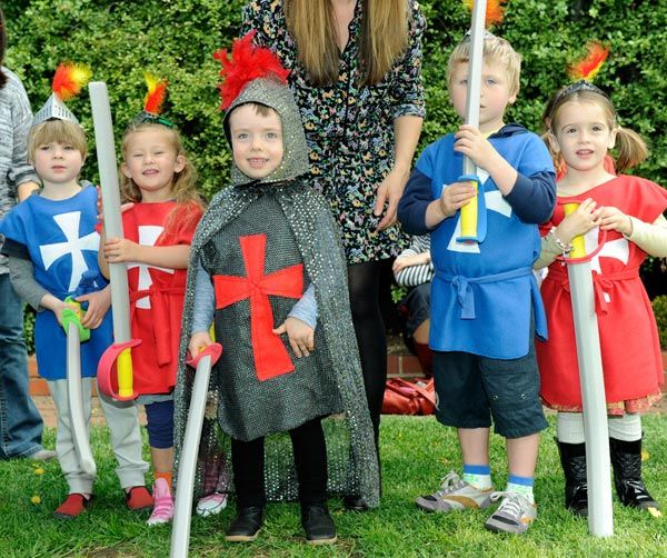 Will's Knights And Dragons Birthday
