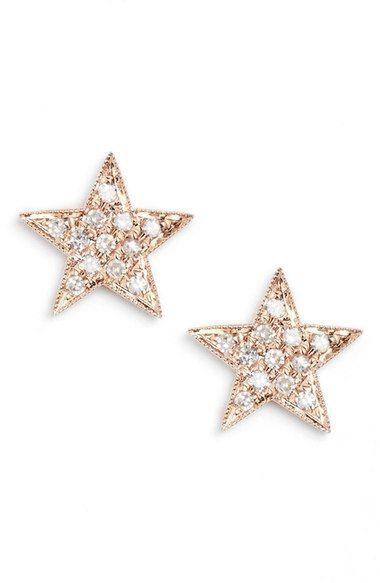 Dana Rebecca Designs Julianne Himiko Diamond Star Stud Earrings Nordstrom
