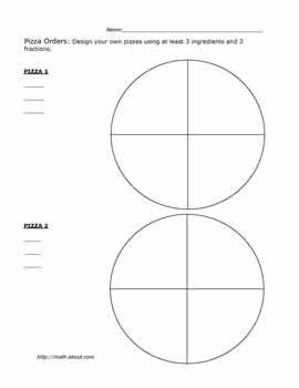 teach your kids fractions with these fun pizza worksheets  math  teach your kids fractions with these fun pizza worksheets pizza fractions  worksheet  of   pdf below