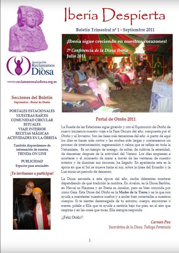 Botelín Iberia Despierta nº 1, Septiembre 2011