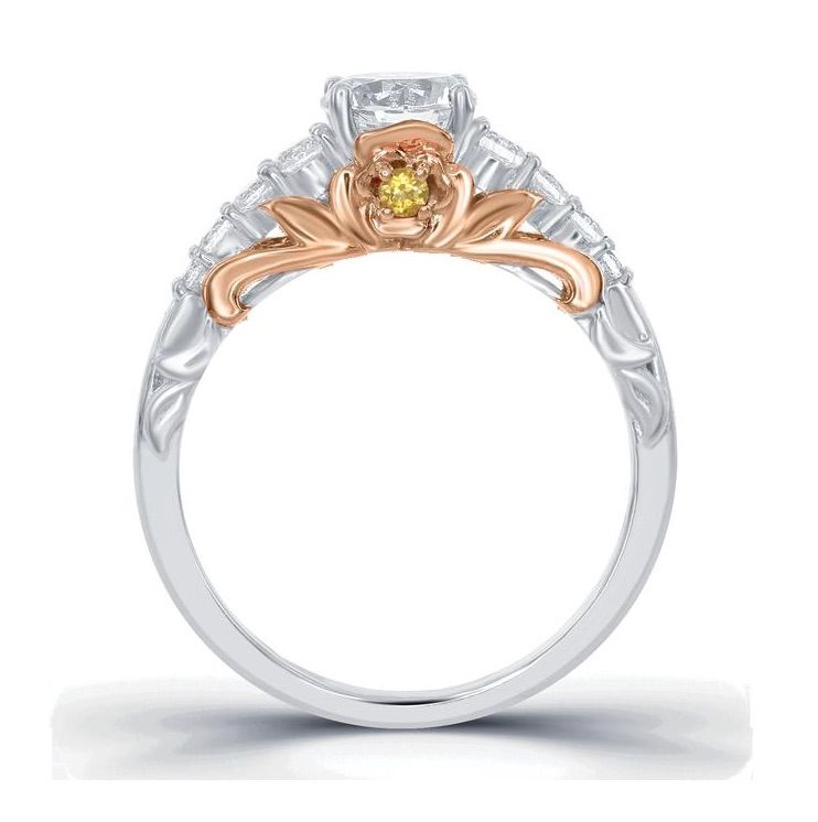 Were in Love With the New Enchanted Disney Fine Jewelry Engagement