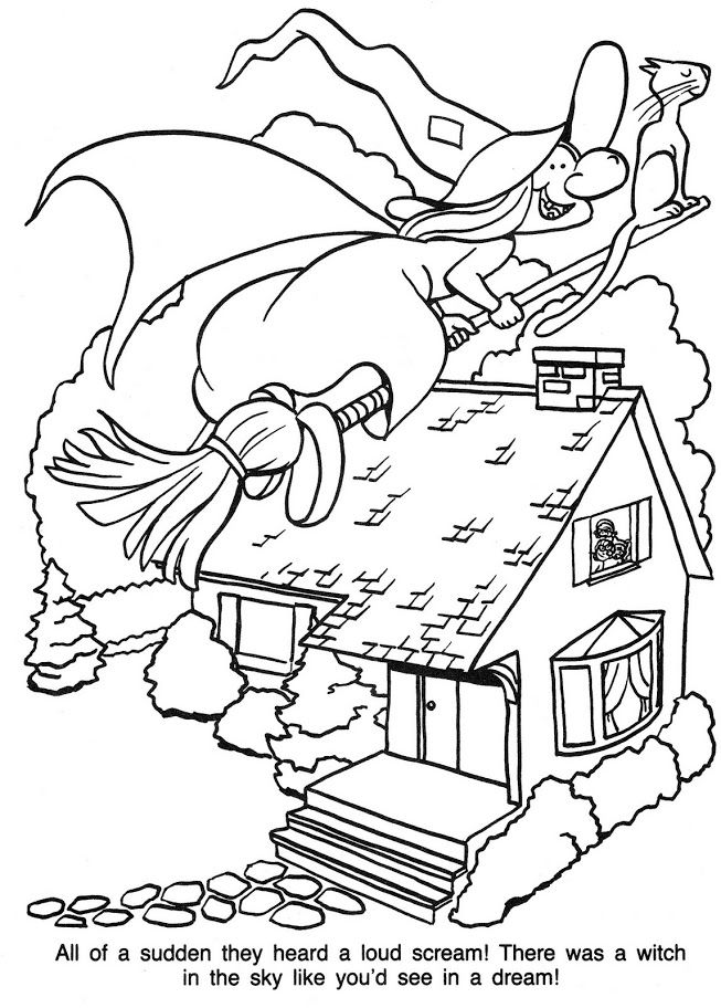 Trick or Treat | Coloring books, Halloween coloring pages ...