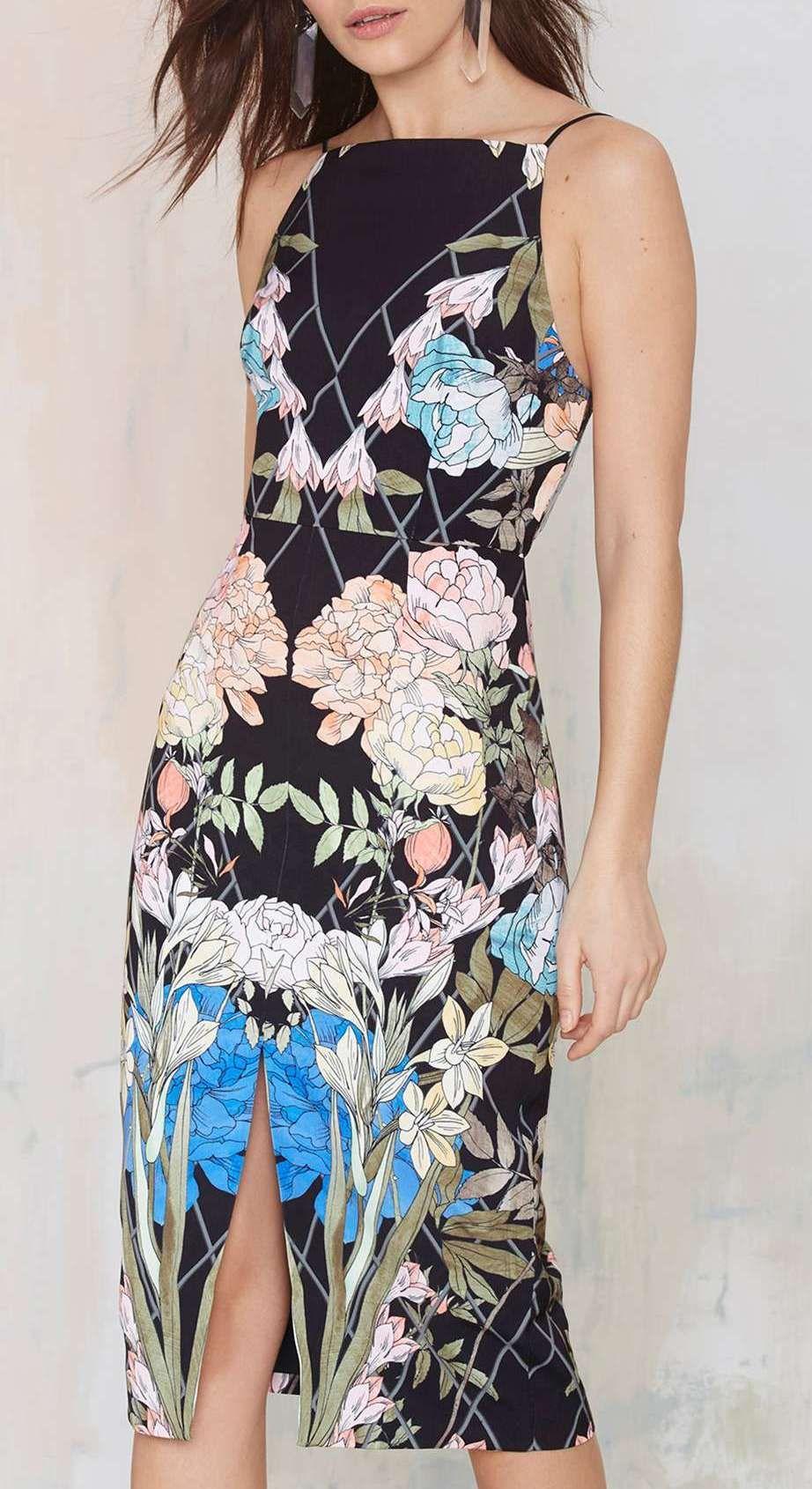 Keepsake Same Love Floral Dress