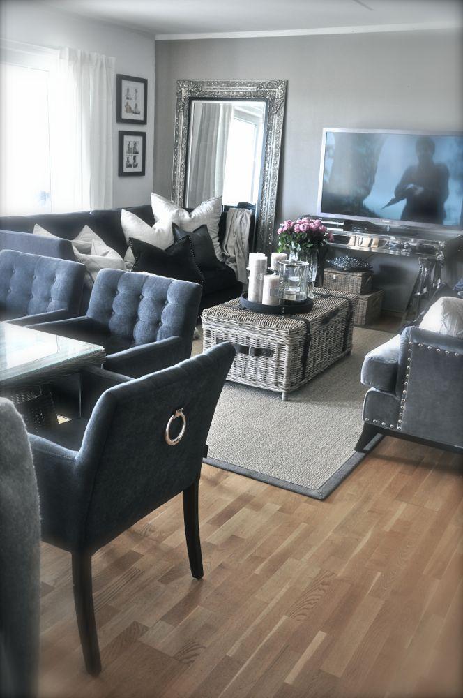 Une pièce à vivre de luxe | design d\'intérieur, décoration, pièce à ...
