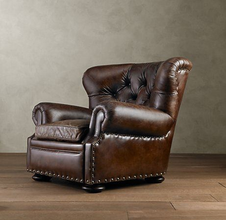 Cozy Comfy Stylish Classic Brown Leather Chair Love For - Comfy leather armchair for readers