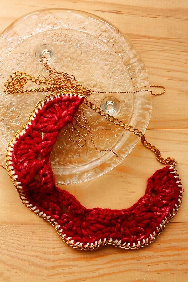 My Craft My Stuff | Mücevherlerim / My Jewels #crochet #necklace