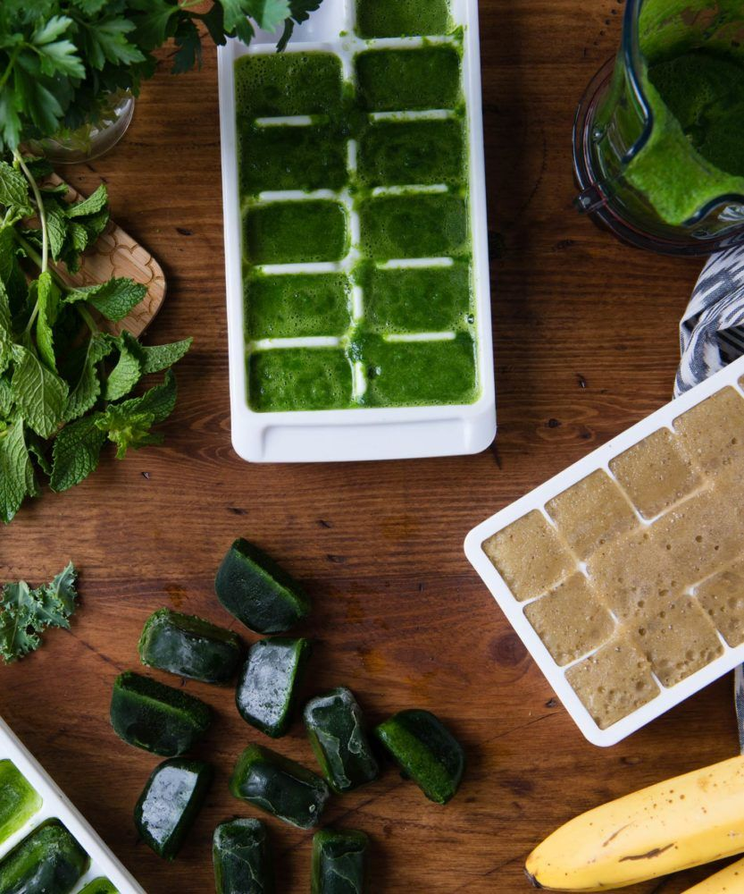 How to Freeze Spinach (or any other leafy green) Frozen