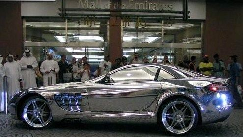 A Mercedes V10 Quad Turbo Made Of White Gold Owned By An Arab