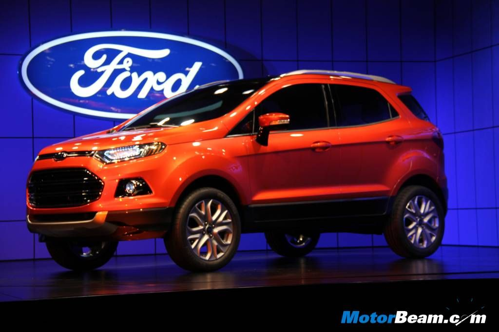Ford Unveils 2012 Ecosport In India Ford Ecosport Ford Suv Ford