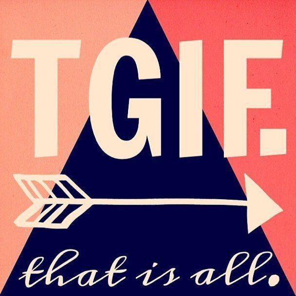 It's Friday, did you hear? #TGIF #longweekend