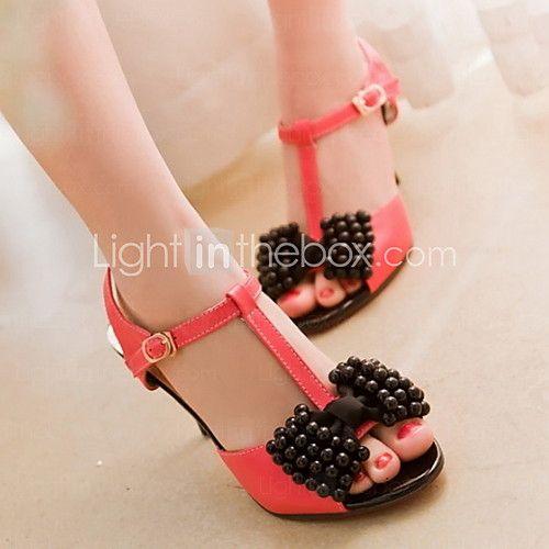 Women's Wedding Stiletto Heel Peep Toe Sandals With Flower