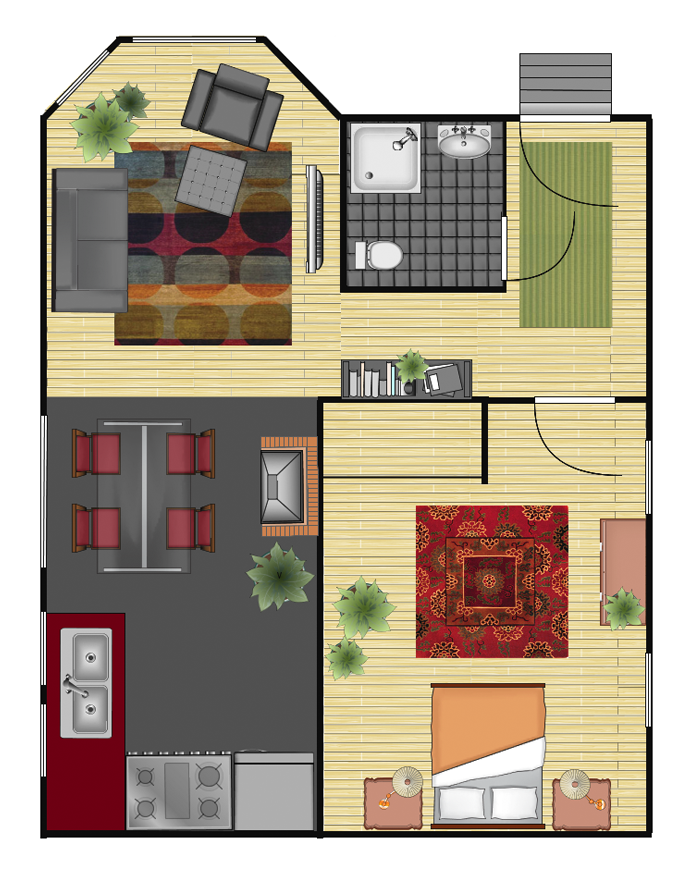 Online Room Designer Tool: Gliffy.com Working On My Floorplan For My Feng Shui Work